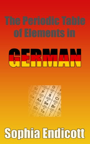 The Periodic Table Of Elements In German The Periodic Table In