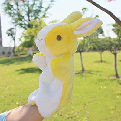 Baidercors Cute Easter Bunny Plush Hand Puppets 12