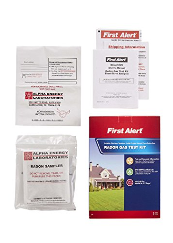First alert rd1 radon gas test kit import it all - The office radon test kit ...