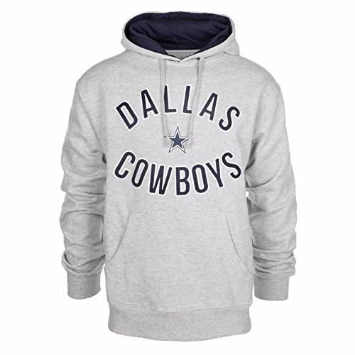 big sale 1a725 1b5b5 Dallas Cowboys SACK Adult Size Medium Hooded Sweatshirt - Gray