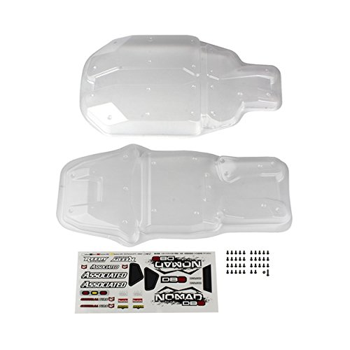 Team Associated Nomad DB8 Body Panel Set (Clear) (Clear Body Set)