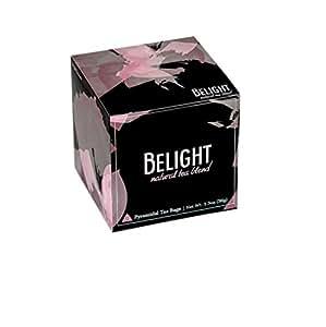 Belight Tea, Weight Control and Digestion Blend of Pu-erh Tea and Herbs - All Natural Wellness Tea Blend