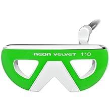 Neon Velvet 110 Golf Putter (Green, Right Hand, 35-Inch)