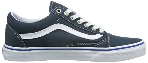 Navy Old Blu Unisex True White da Skool Basse Adulto Scarpe Skater Vans Midnight vwqdx8Yv