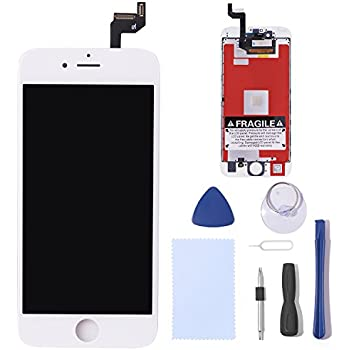 iPhone 6s Screen Replacement, Cococka iPhone 6s LCD Screen and Display Digitizer Frame Assembly Set for iPhone 6s 4.7 inch ( White)