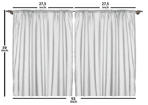 Ambesonne Vintage Kitchen Curtains Mega Pack Old Advertisement Designs Retro Style Calligraphy Illustration Window Drapes 2 Panel Set For Cafe Decor 55 X 39 Brown Cream Pricepulse