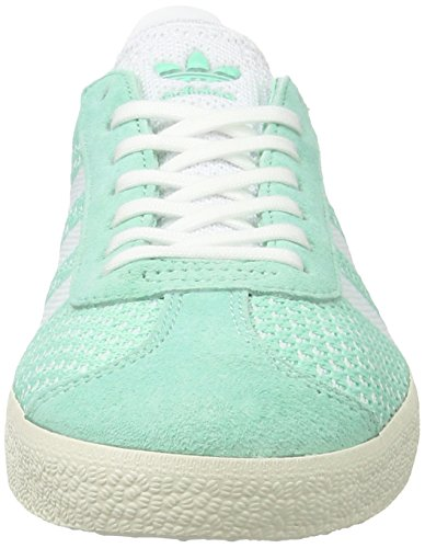 Sneakers Femme White White GR¸n Unique Gazelle Green adidas Taille Chalk Primeknit Basses Easy Footwear wIp4xEq1