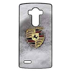 Comprehensive Original LG G4 Cover Case,Classical Element Porsche Luxury Flag Phone Accessory Porsche Logo