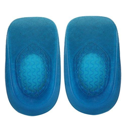 Blu Sottopiede Scarpe 4 Supporto 3 Ortotiche Piedi Cuscino Fityle F Caduta Arche Pronazione Arco OCRqwE4O