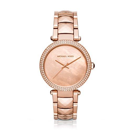 Michael Kors Women's Parker Rose Gold-Tone Watch MK6426
