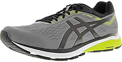 ASICS 1011A042 Men's GT-1000 7 Running Shoe, Carbon/Black - 10 D(M) US