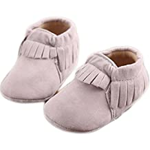 Baby Moccasins Boys and Girls Shoes for Infants, Babies, and Toddlers