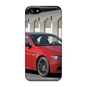 Durable Cases For The For Case HTC One M7 Cover Eco-friendly Retail Packaging(red Bmw M3 Front Angle)