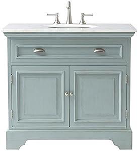 Sadie single bath vanity 35 hx38 wx21 5 d for Amazon bathroom vanity lights