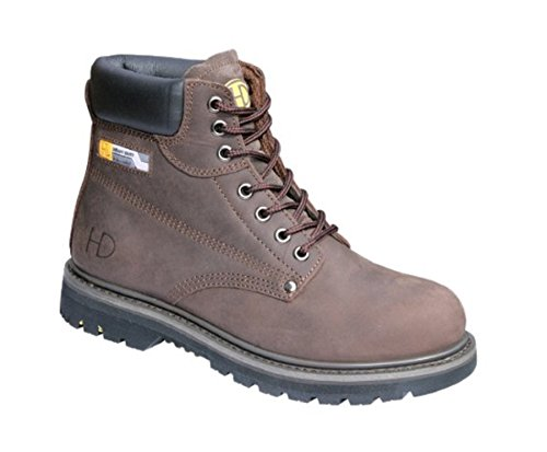 Heavy Duty 33P Steel Toe Boots Maschile