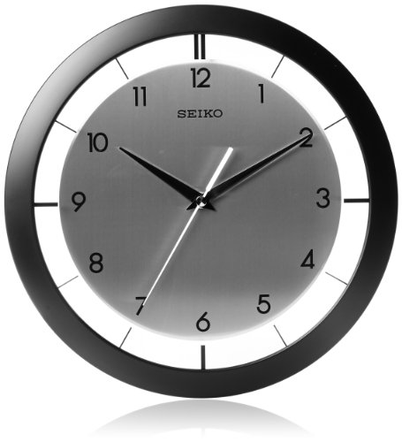 Seiko QXA520KLH Wall Clock (Seiko White Clock)