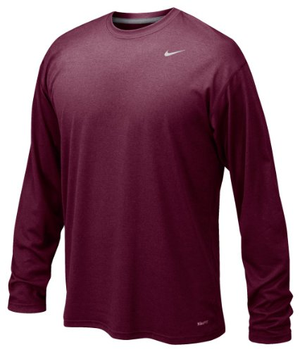 - NIKE Men's Legend Long Sleeve Tee (XXX-Large, Cardinal)