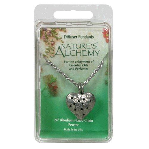 (Nature's Alchemy Heart Diffuser Pendant, 1 Pendant)