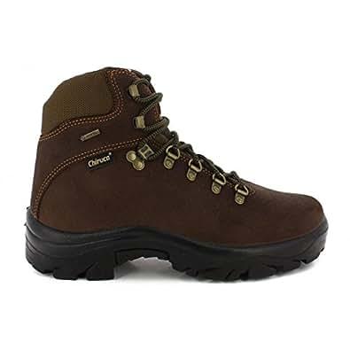 Highlander - Zapatos de caza para hombre marrón marrón, color marrón, talla 10 UK