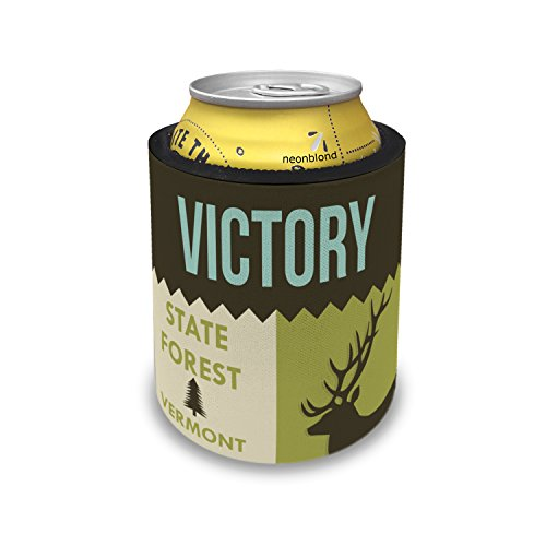 Slap Can Coolers National US Forest Victory State Forest Insulator Sleeve Covers Neonblond