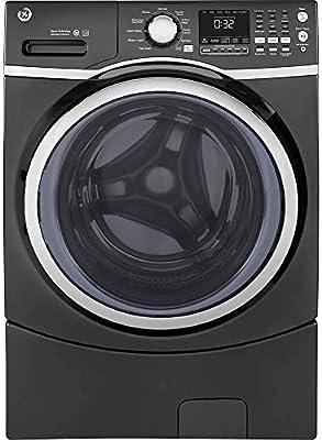 GE GFW450SPMDG lavadora de vapor de carga frontal, 4.5 cu. de ...