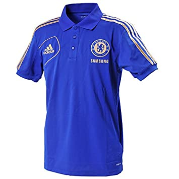 adidas 2012-13 Chelsea Polo Football Soccer T-Shirt Camiseta (Blue ...