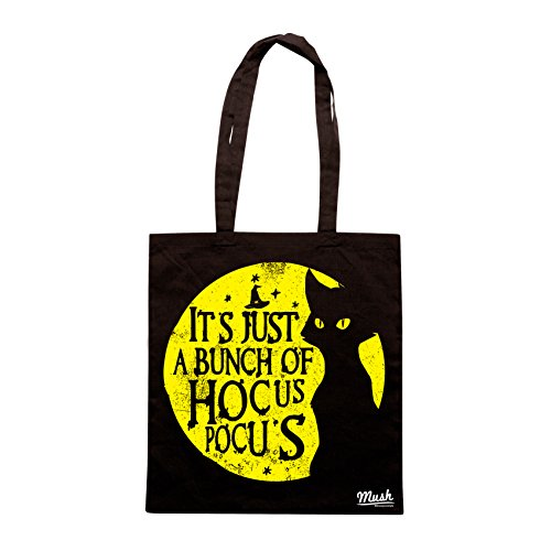 Borsa ITS JUST A BUNCH OF HOCUS POCUS- WITCH - Nera - FILM by Mush Dress Your Style