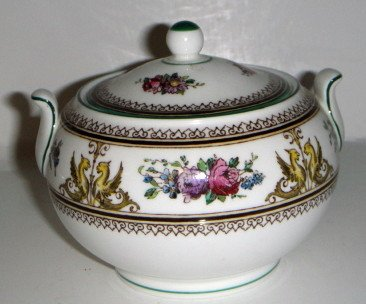 Wedgwood Columbia (W595) Sugar Bowl & Lid 146 Shape