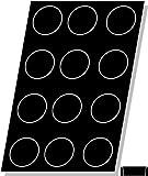 Flexipan, Tatin Apple Tart 8.28 Oz, 100mm Dia x 35mm Deep (4'' Dia x 1-3/8'' Deep), 12 Cavities
