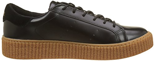 Noir Basses Box Picadilly black Mastic Sneaker Name Sole Femme Baskets No 10HZSn