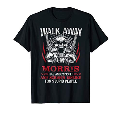 Mens Walk Away I'm Morris has anger issues