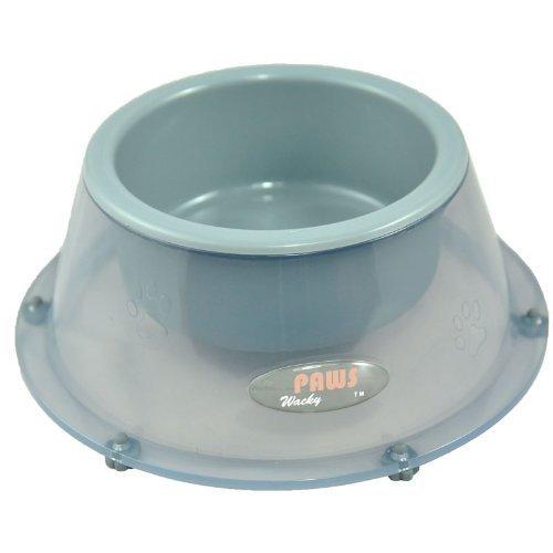 Wacky Paws Pet Bowl, Large, Gray