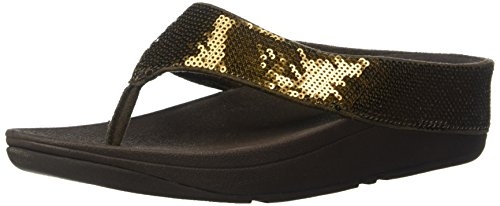 Bronze Toe Flip Post Sequin fitflop Women's Ringer Flop f4xaqPHRn