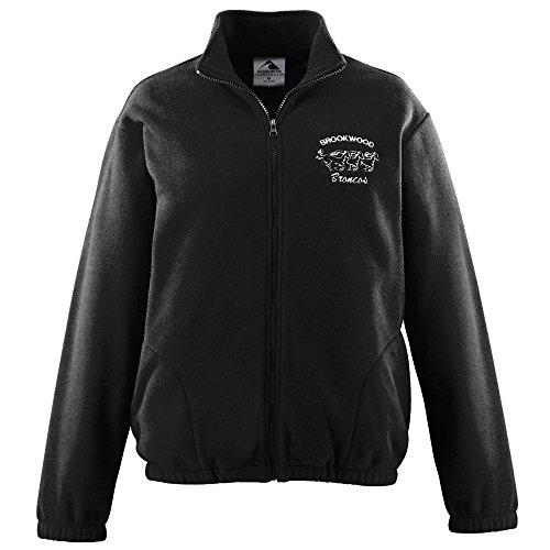 Augusta Chill Fleece - Augusta Sportswear Men's Chill Fleece Full Zip Jacket L Black