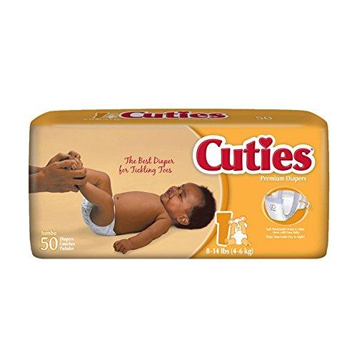 cuties cr1001 diapers 200 case