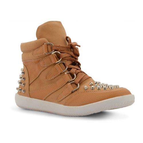 Footwear Sensation - Zapatillas de sintético para mujer marrón - canela