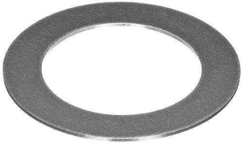C1074/C1095 Spring Steel Round Shim, Unpolished (Mill) Finish, Spring Temper, ASTM A684, 0.062