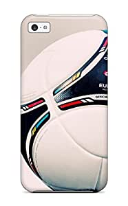 New Snap-on AmandaMichaelFazio Skin Case Cover Compatible With Iphone 5c- Uefa Euro 2012 Match Ball
