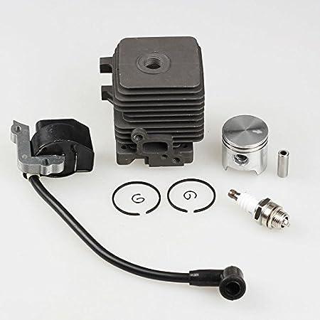Stihl Cylinder /& Piston 4140 020 1202 BG45 BG55 BG85 FS38 FS45 FS46 FS55 KM55