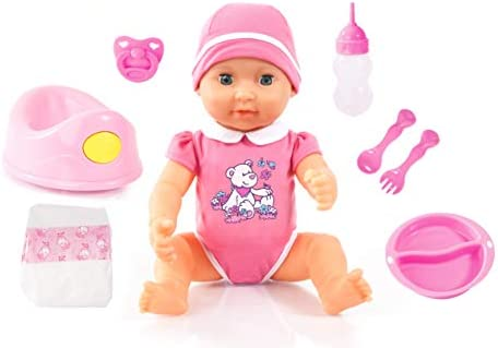 Amazon.es: Bayer Design Piccolina Newborn Baby 40cm, muñeca bebé ...