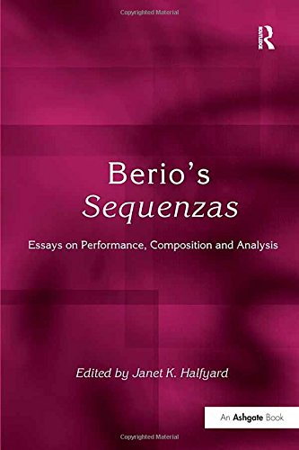 Quartets String Ensembles Beginning - Berio's Sequenzas: Essays on Performance, Composition and Analysis