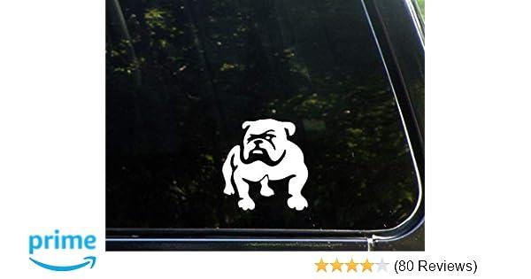 Car Tablet Vinyl Decal Brit the English Bulldog Show Dog Breed