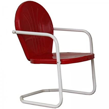 Genial Torrans Tmcred Thunderbird Metal Lawn Chair   Red