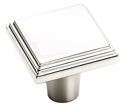 Amerock BP2611726 Manor Cabinet Knob, 1 Inch, Polished Chrome
