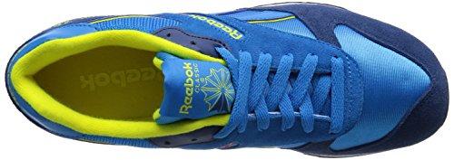 Reebok GL 2620 - Zapatillas para hombre Azul (Energyblue/Batikblue/Stngryllw/Wht/Fltgry/Blk)