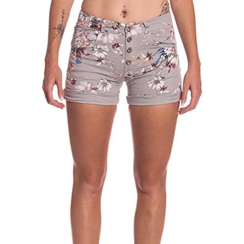 d7cc9e48206a high-quality Abbino 9016 Pantalones Cortos con Estampado de Flores ...