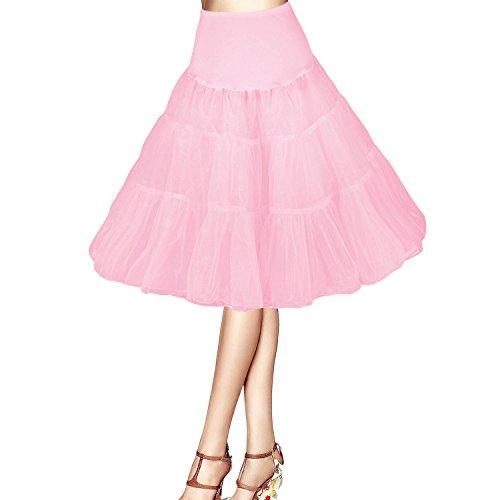 Boolavard-TM-26-50s-Retro-Underskirt-Swing-Vintage-Petticoat-Net-Skirt