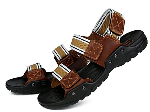 de piel chanclas sandalias hombres nbsp;nuevo 1 sandalias transpirable sandalias cuero verano y 2017 de wp1tx0nqn