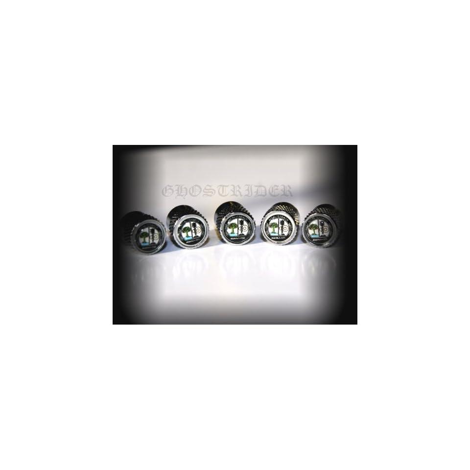 Mercedes Benz AMG Tire Stem Valve Caps Wheels Car Styling Accessories