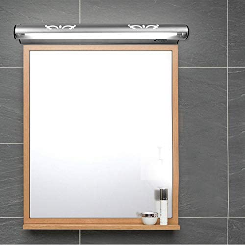 SSLW Badezimmerspiegelleuchte Moderne minimalistische Hotelleuchte mit Schalter,warmlight,47cm